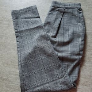 Forever 21 Checked Pants Size Small Pre-Owned